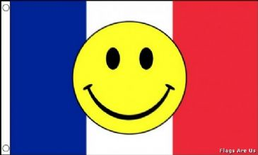 France Smiley Face